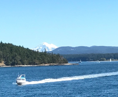 Mt Baker from the ferry