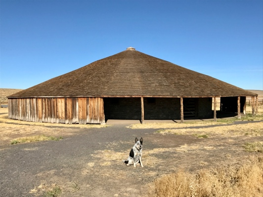 Pete French Historic Round Barn