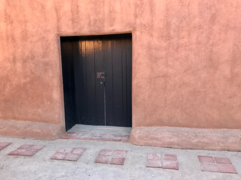 The doorway that so intrigued Ms. O'Keefe when she first saw the property and compelled her to buy it.