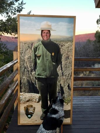 I'm a park ranger!