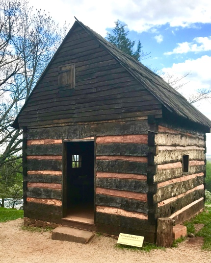 Enslaved servants quarters at Monticello