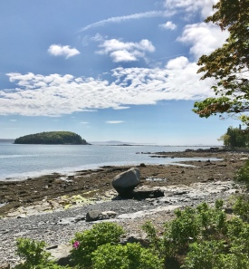 View from Bar Harbor